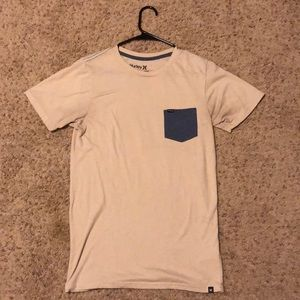 Like New Hurley T Shirt w/ Blue Pocket Size Small